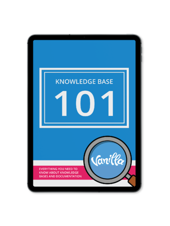 Vanilla Knowledge Base 101 Ipad